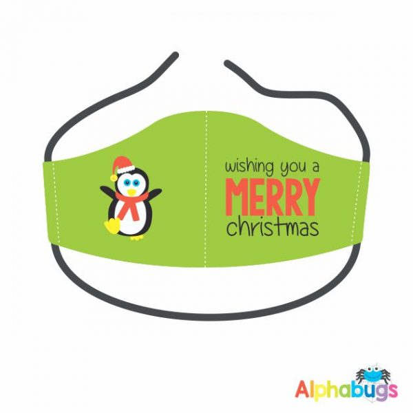 Face Mask – Christmas Characters Penquin