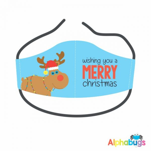Face Mask – Christmas Characters Rudolph