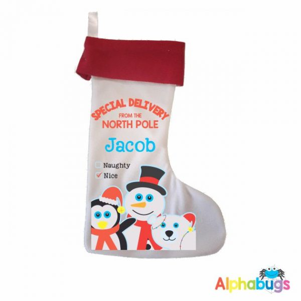 Personalised Stockings – Festive Friends