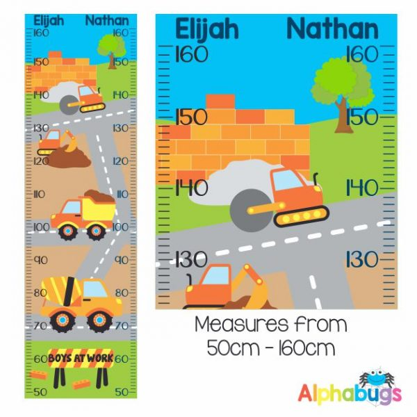 Growth Chart – Boys At Work