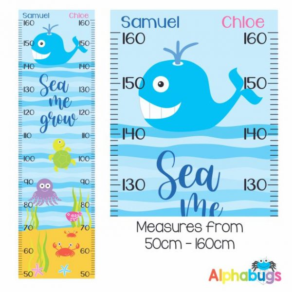 Growth Chart – Under The Sea