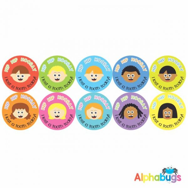 Early Learning Stickers – I lost a Tooth