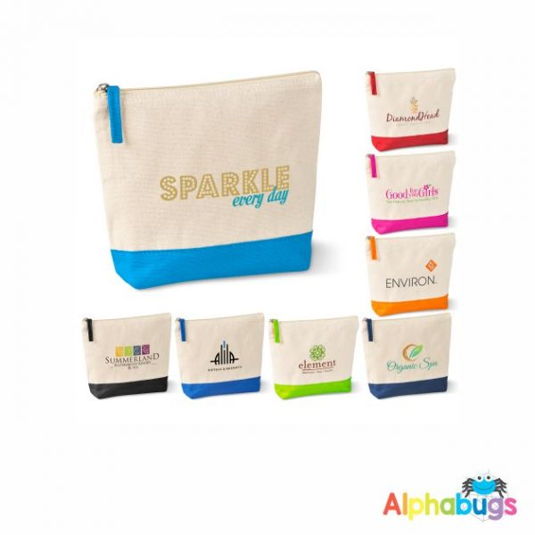 Kooshty Q Cotton Cosmetic Bag