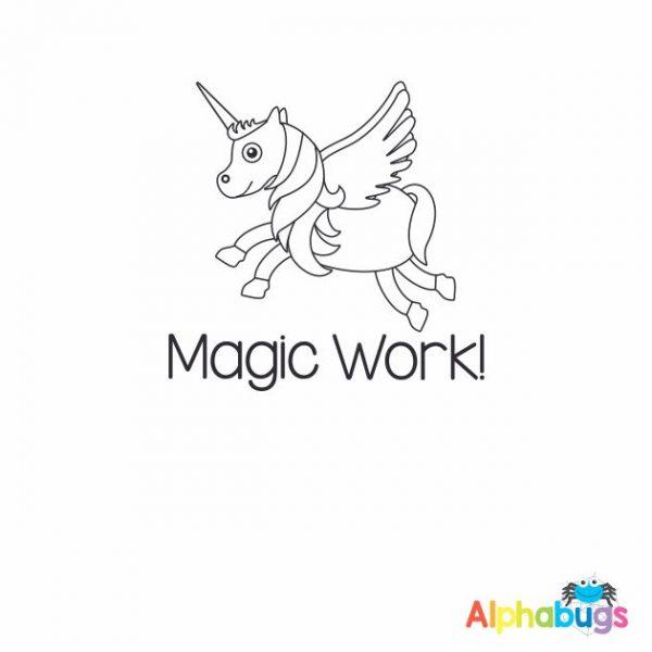 Magic Work 3cm Stamp